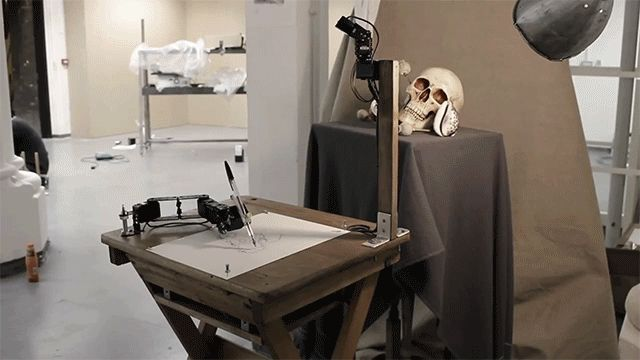 This Robot Draws Like a Human | The Creators Project