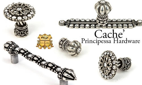 Carpe Diem Hardware new Cache' Principessa Hardware made with Swarovski Elements