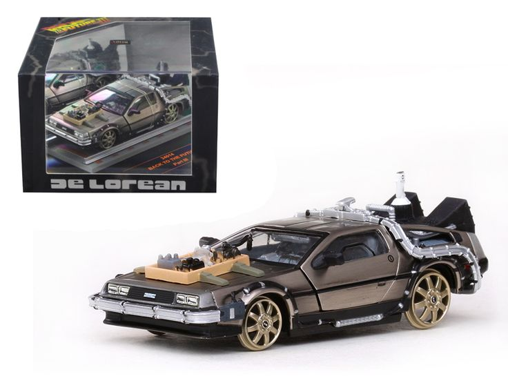 De Lorean Back To The Future Part 3 Railroad Version 1/43 Diecast Car Model by Vitesse - Opening doors. Has rubber tires. Detailed interior, exterior. Dimensions approximately L-4 inches long. Comes in brand new plastic display showcase.-Weight: 1. Height: 5. Width: 9. Box Weight: 1. Box Width: 9. Box Height: 5. Box Depth: 5
