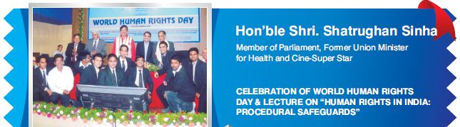 Hon'ble Shri.Shatrughan Sinha Member of Parliament,Former Union Minister for Health and Cine-Super Star