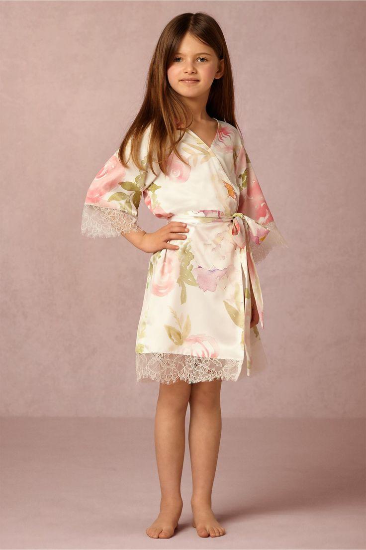 Stunning mini me Garden Girl Robe from BHLDN
