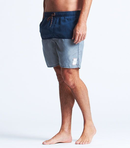 Vues - Grey Split Swim Trunk