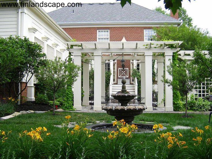 27 best images about columbus ohio landscapes on pinterest for Roman garden designs