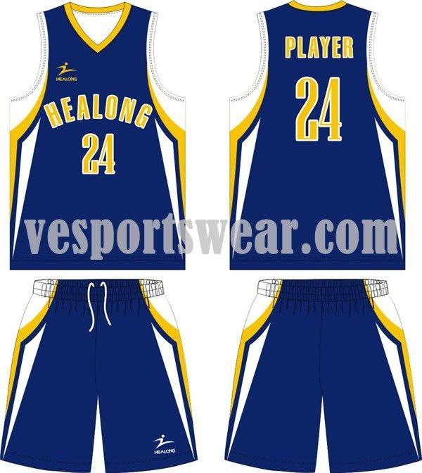 2014 Cheap Sublimation Basketball Jerseys Kit