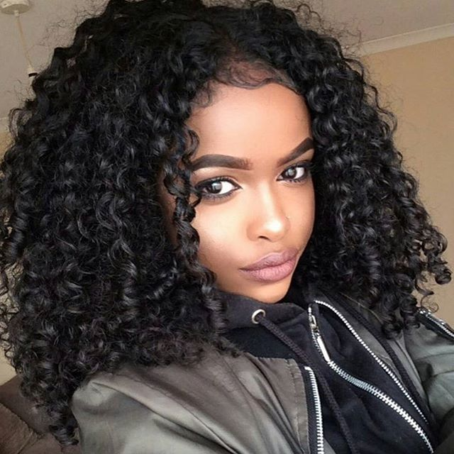Curly girl hairstyles black