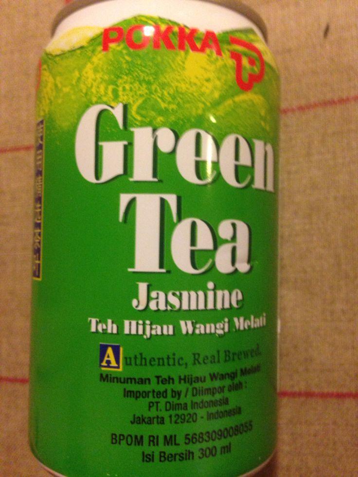 Groene thee limonade