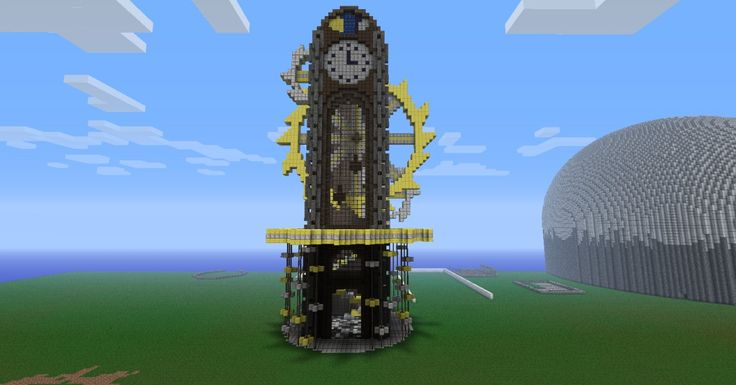 Steampunk Clock Tower Minecraft Project