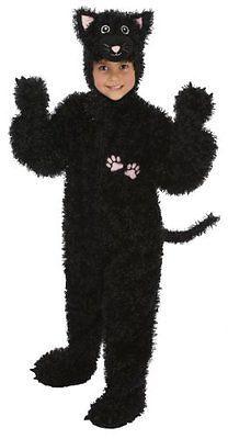 Just Pretend Kids Black Cat Animal Costume, Small