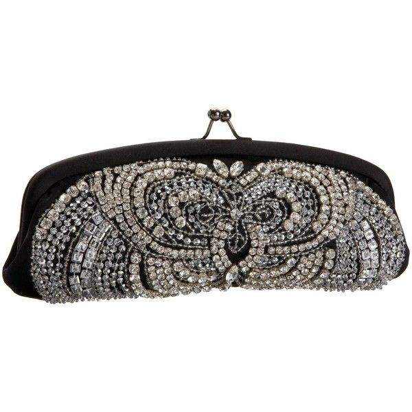 Santi FH2857X Clutch ❤ liked on Polyvore featuring bags, handbags, clutches, purses, borse, accessories, handbag purse, sparkly purses, brown hand bags and santi handbags