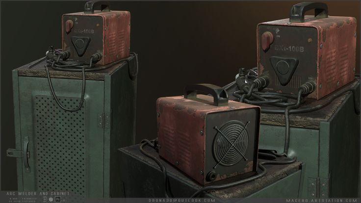 ArtStation - Rusty arc welder, Mario Dalla Bona