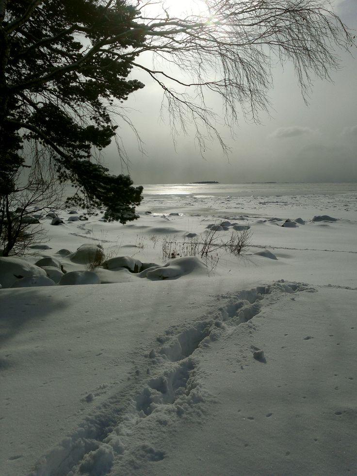 Lumi, Lauttasaari.