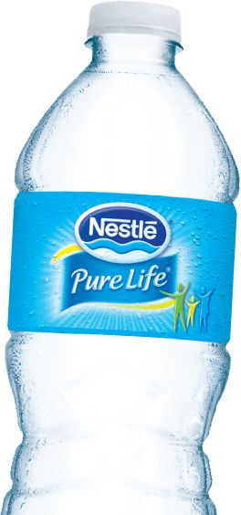 Nestle Pure Life Purified Water...rated as the best bottled water by the EWG. Fluoride not detected. :-)