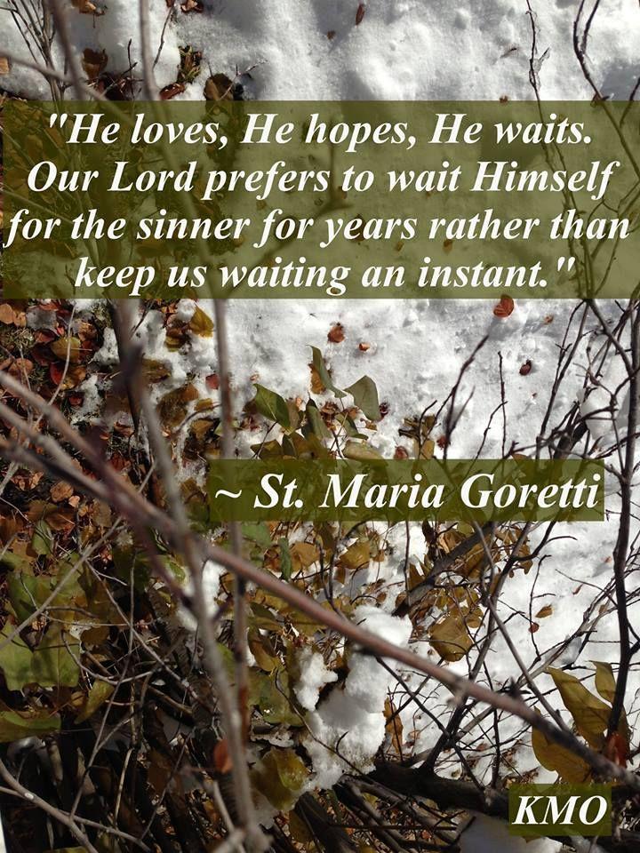 St. Maria Goretti....