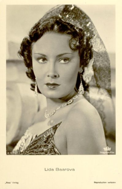 Lida Baarova. The beautiful Actress for Whom Goebbels wanted to Leave Germany and everything behind him , in the Late 30s! This is unbelieveable!!!