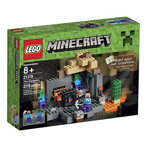 LEGO Minecraft The Dungeon 21119 レゴ マインクラフト ダンジョン [並行輸入品]... https://www.amazon.co.jp/dp/B013J5B7E0/ref=cm_sw_r_pi_dp_x_8ikpzbGB5C6VJ