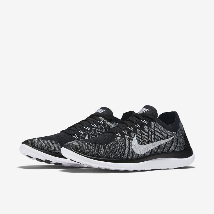 Nike Free 4.0 Flyknit Men's Running Shoe.