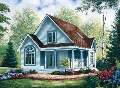 Casa canadiense, casa de madera con entramado ligero