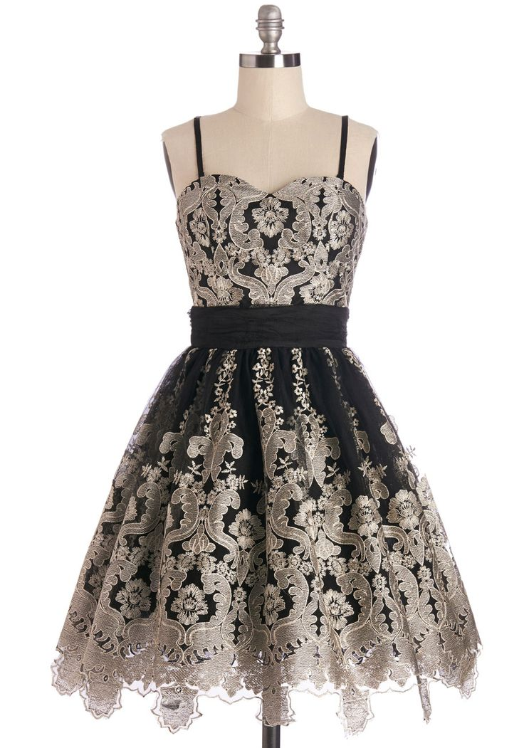 Flawless Flair Dress, #ModCloth