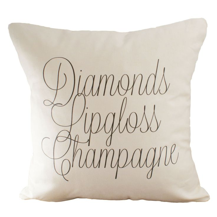 Diamonds •♡• Lip gloss •♡• Champagne.... so cute!