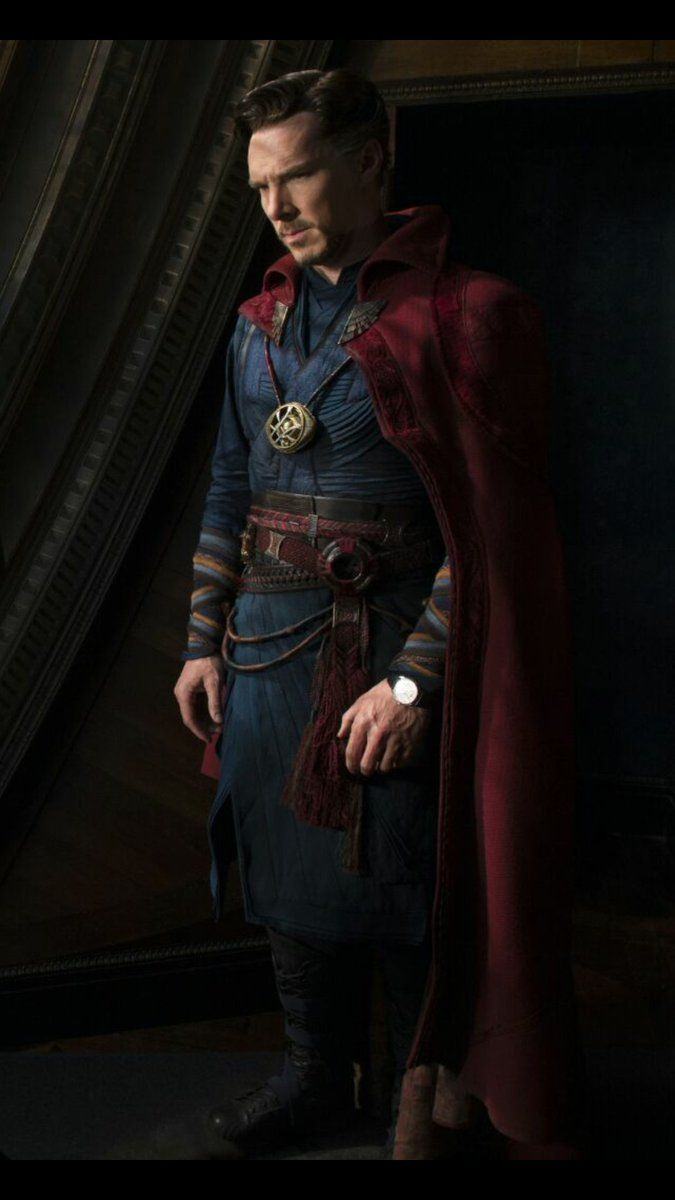 Benedict Cumberbatch as Doctor Strange....read me the phone book please....if he was on my radio I'd never leave work...