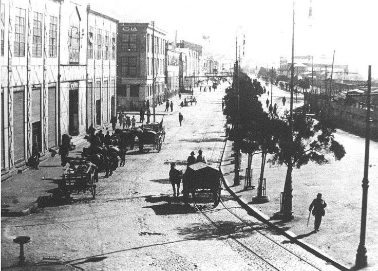 https://flic.kr/p/g8RzRb | 1910s. Valparaíso Antiguo. | Avenida Brasil a principios del siglo XX.