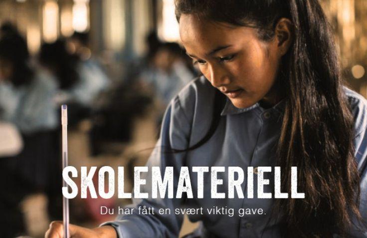 Gavekort: Skolemateriell Skolestart gave til barn som skal starte på Ungdumskolen eller vgs eller noe sånnt.