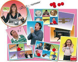 Bingo Dźwiękowe Czynności i Instrumenty Muzyczne