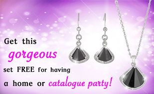FREE Jewellery...host a home/office/catalogue party and get this fabulous set absolutely FREE!