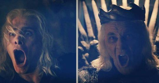 Like father like son: Viserys & King Aerys II Targaryen