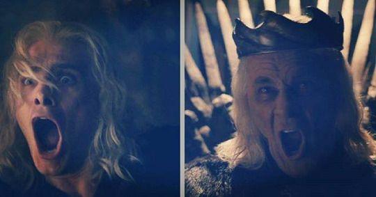 Like father like son: Viserys & King Aerys II Targaryen