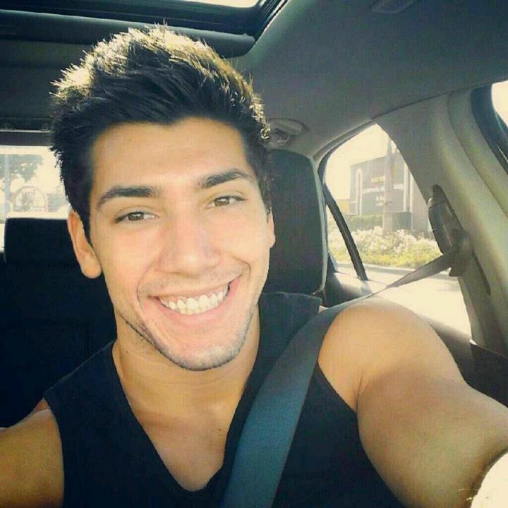Josh Leyva: look at that smile!