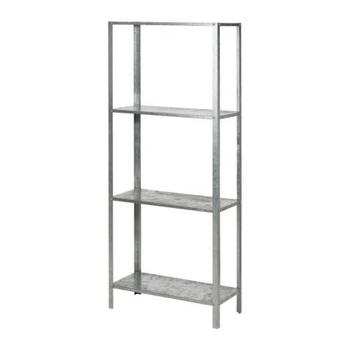 HYLLIS Shelving unit, galvanized
