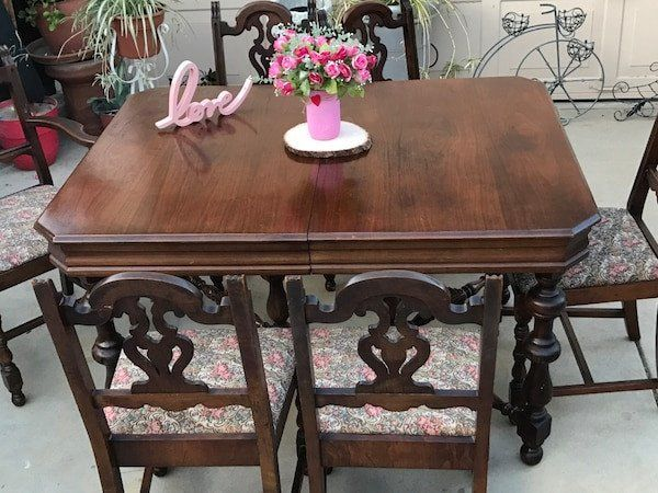 28++ Antique dining table and chairs Inspiration