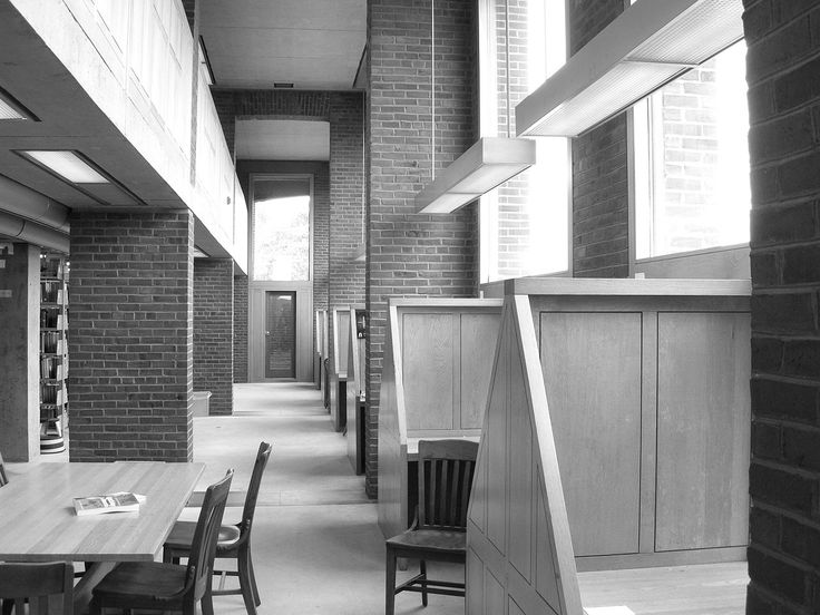 Phillips Exeter Academy library carrels 2 - Phillips Exeter Academy Library - Wikipedia, the free encyclopedia
