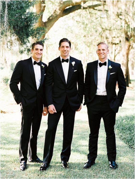 2018 Latest Coat Pant Designs Black Wedding Suits for Men Slim Fit Groom Blazer Groomsmen Jackets Men Tuxedo Terno 2 Piece qw1