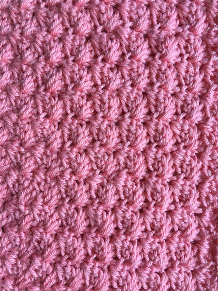 sedge stitch Hækle, hæklet, hækling, hækleopskrifter, hækling for begyndere, hæklemønstre, Hækleskole, masker, hækle forklaring, hæklede
