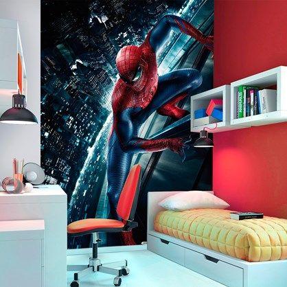 Fototapet - Spiderman. Absolut et cool billede af Spiderman.
