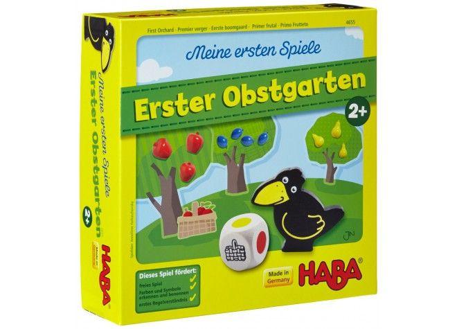 Meine ersten Spiele - Erster Obstgarten, ab 2 Jahren von Haba bei Spielundlern online bestellen