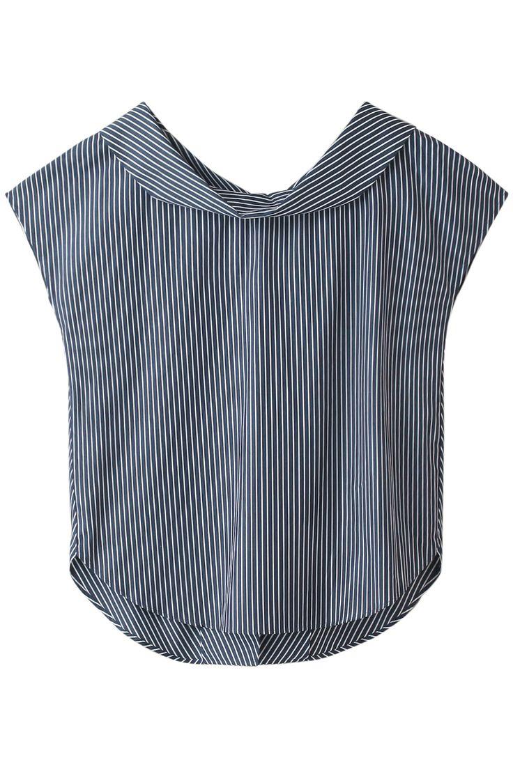 【ELLE SHOP】バックシャツプルオーバーストライプ|ガリャルダガランテ(GALLARDAGALANTE)|エル・ショップ