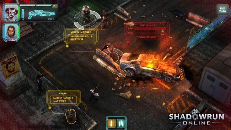 Shadowrun Online Screenshots