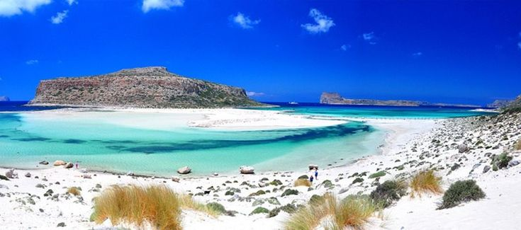 Balos lagoon is one of the most popular beach destinations in Chania, Crete, a must visit while on holidays in Crete.