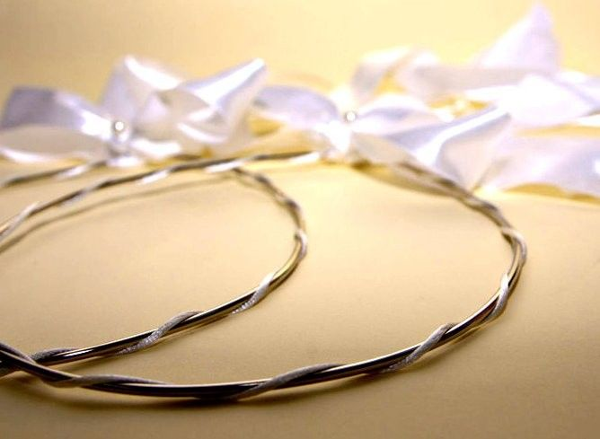 STEFANA Wedding Crowns-  Christian Orthodox wedding stefana CLASSIC. $95.00, via Etsy.