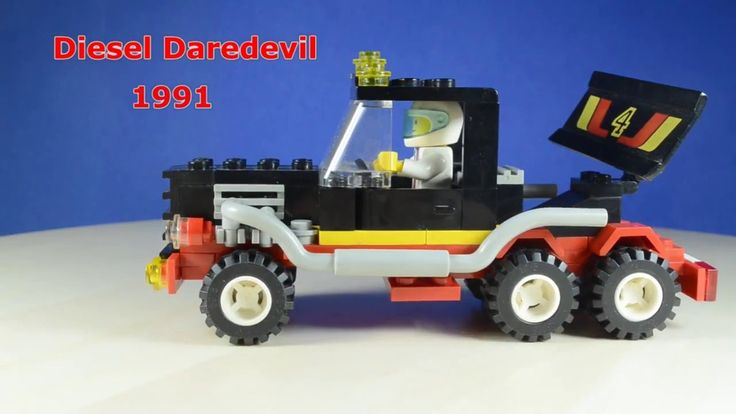 Diesel Daredevil is a racing truck on 6 wheels, two cool exhaust pipes and panel on the back. Set Includes one minifigure It has nice old school looking too:)