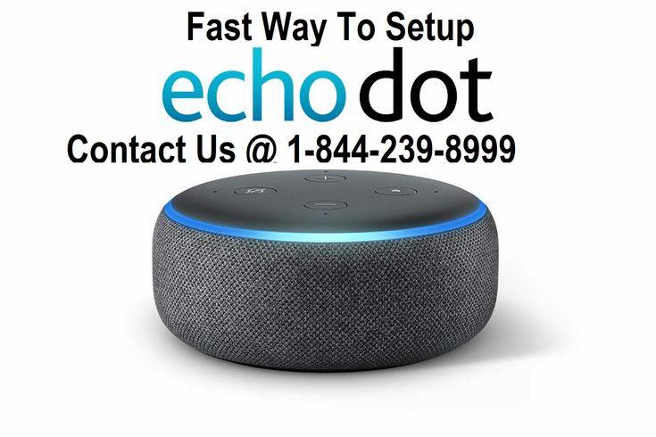 Fast way to setup echo dot with amazon