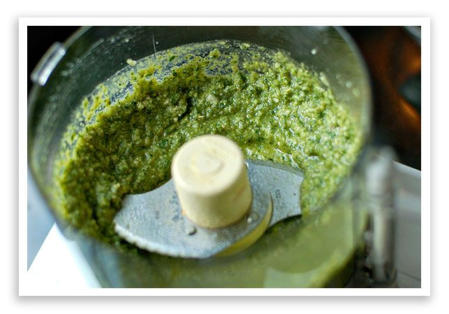Homemade pesto recipe - Pesto is one of the best foods to freeze and use all through the winter when you need a fresh flavor boost!