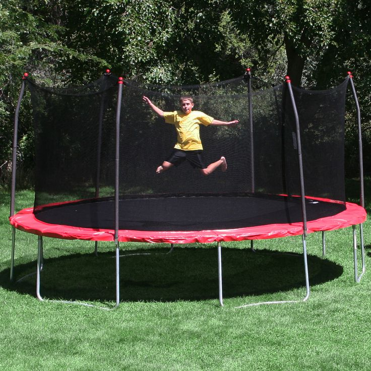 17 X 15 Oval Trampoline With Safety Enclosure: Best 25+ Oval Trampoline Ideas On Pinterest