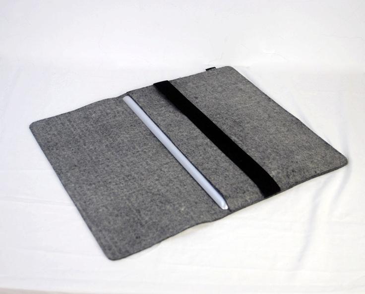 Wool Felt 15 laptop sleeve Macbook Sleeve Macbook Case felt laptop bag Macbook Holder Macbook Protector Macbook cover for Apple 1183-04. $42.00, via Etsy.