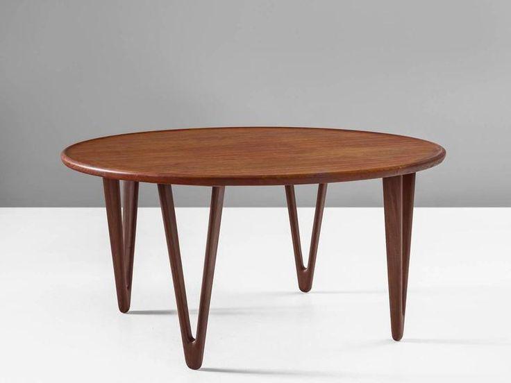 Tove and Edvard Kindt-Larsen Coffee Table For Sale at 1stdibs