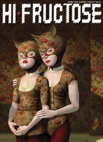 cMag154 - Hi-Fructose Magazine cover by Ray Caesar / Volume 4 / October 2006