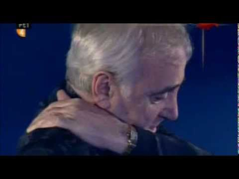 Charles Aznavour - The old fashioned way/Les plaisirs démodés (English French version, Dutch TV) - YouTube